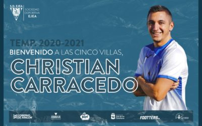 Christian Carracedo refuerza la parcela ofensiva de la SD Ejea